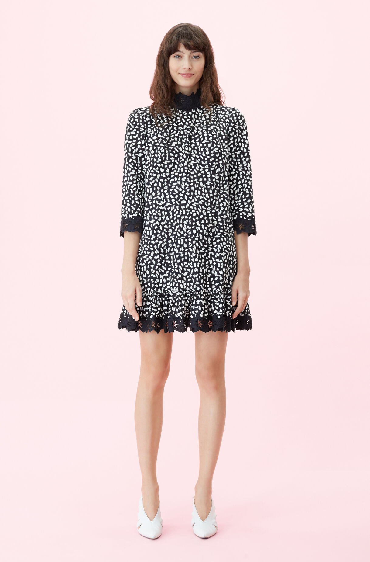 La Vie Le Jaguar Embroidered Dress
