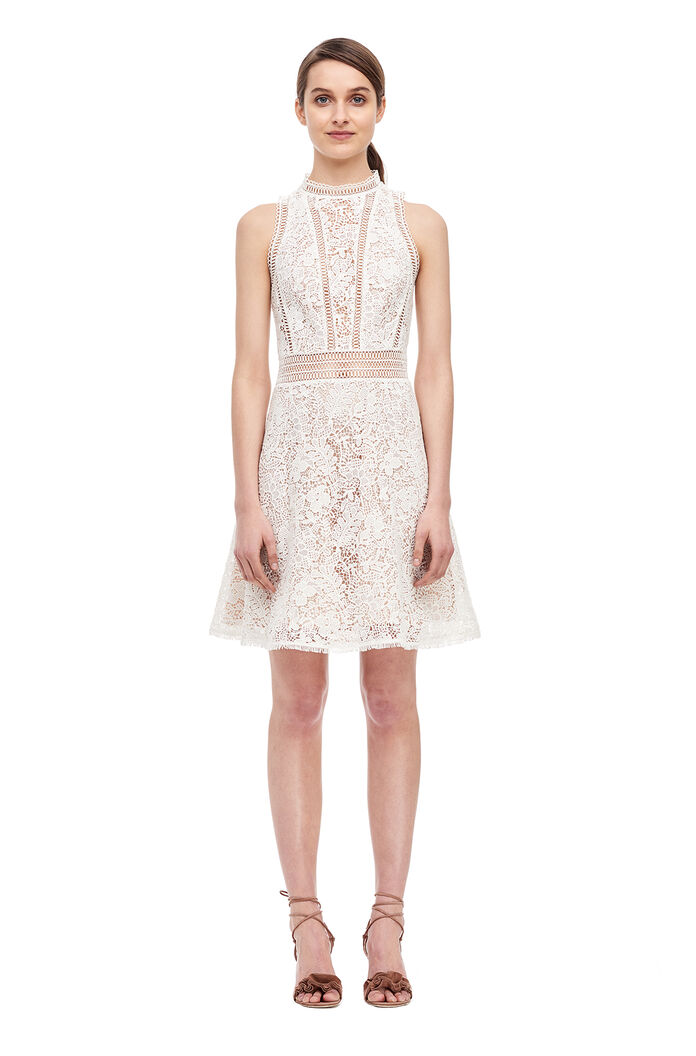 Arella Lace Dress - Snow