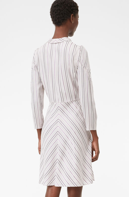 Tailored Juniper Stripe Dress