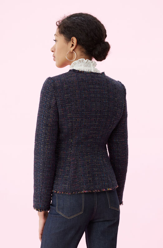 Rainbow Tweed Jacket