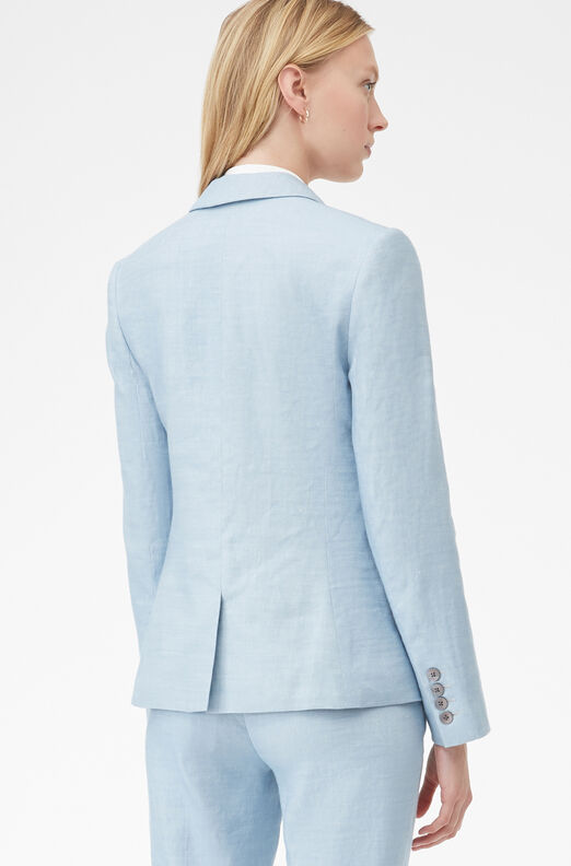 Tailored Twill Suiting Jacket