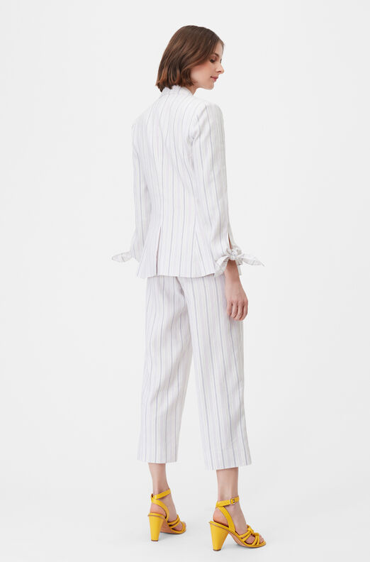 Tailored Stripe Suiting Jacket
