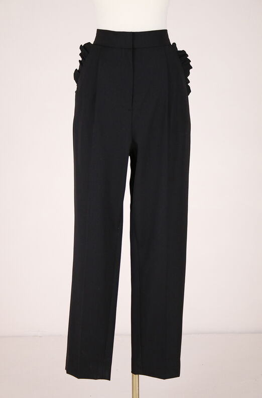 ReCollect Suiting Ruffle Pant