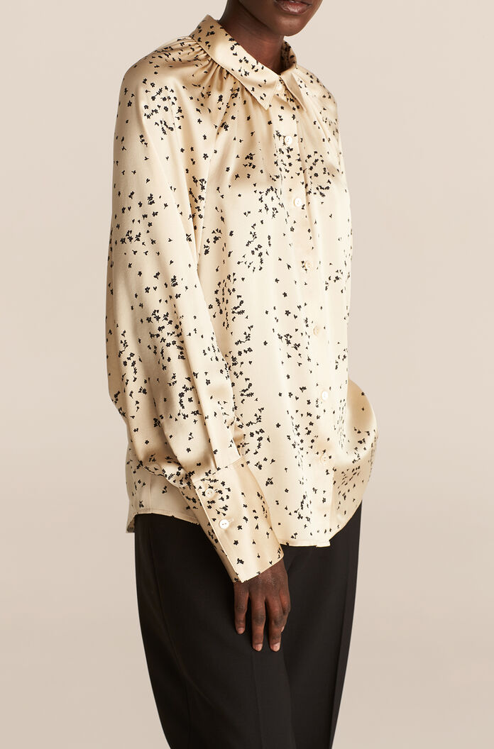 Scattered Fleur Blouse, Champagne Combo, large
