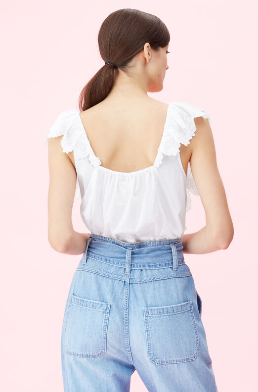 La Vie Mireille Embroidered Top