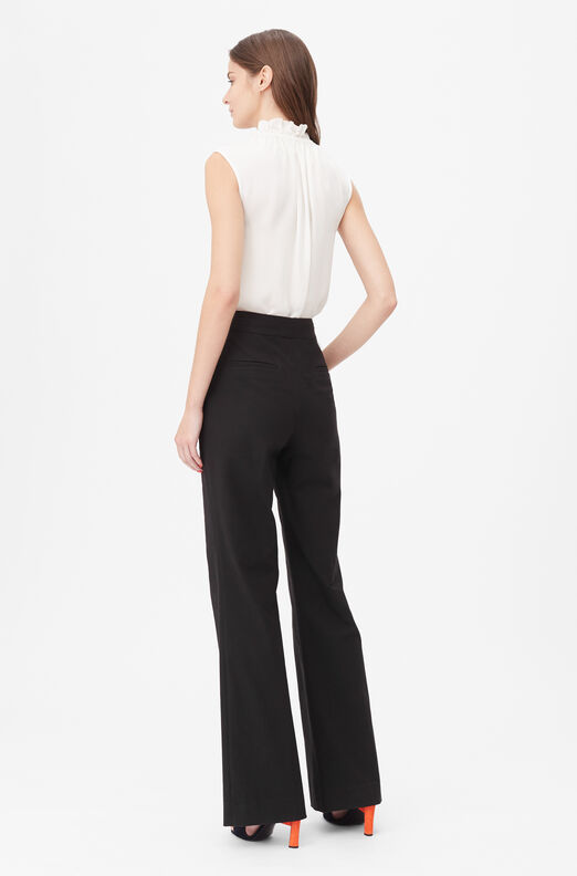 Tailored Stretch Modern Suiting Pant, Black, large