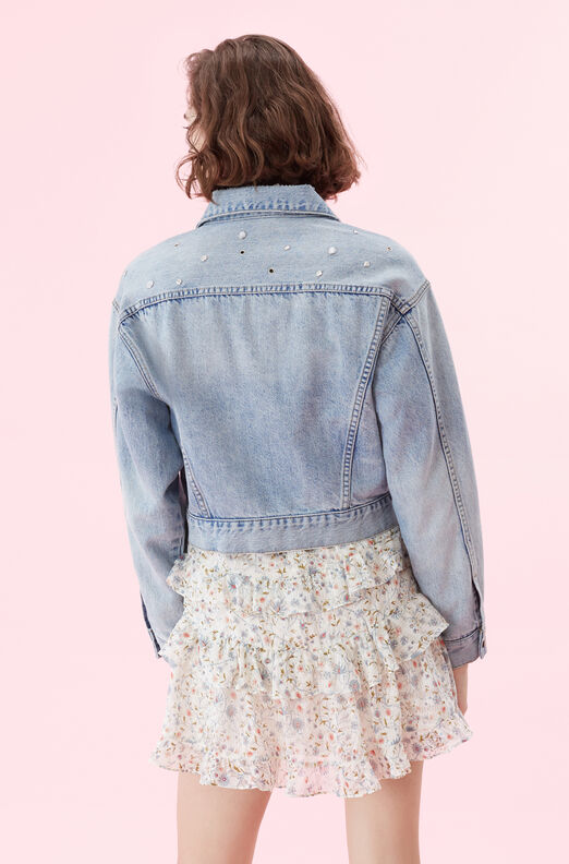 La Vie Embellished Denim Jacket