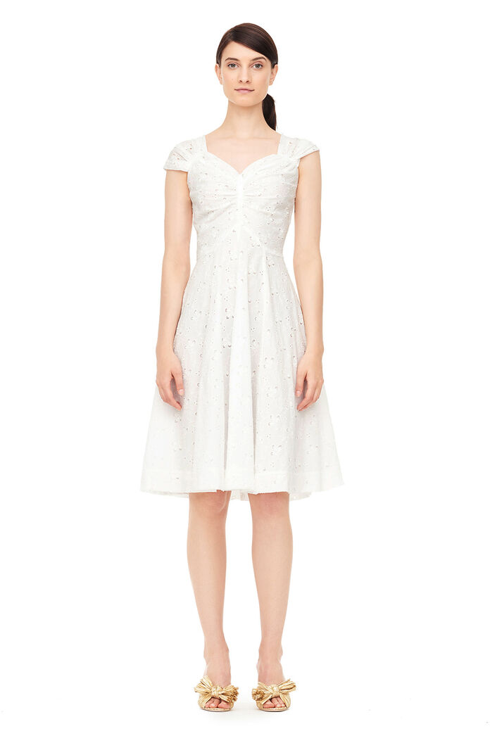 La Vie Sweet Pea Embroidered Dress by Rebecca Taylor