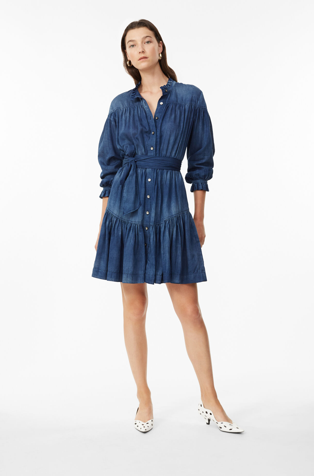La Vie Tissue Denim Dress