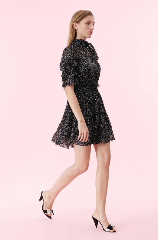 Mini Cheetah Ruffle Clip Dress