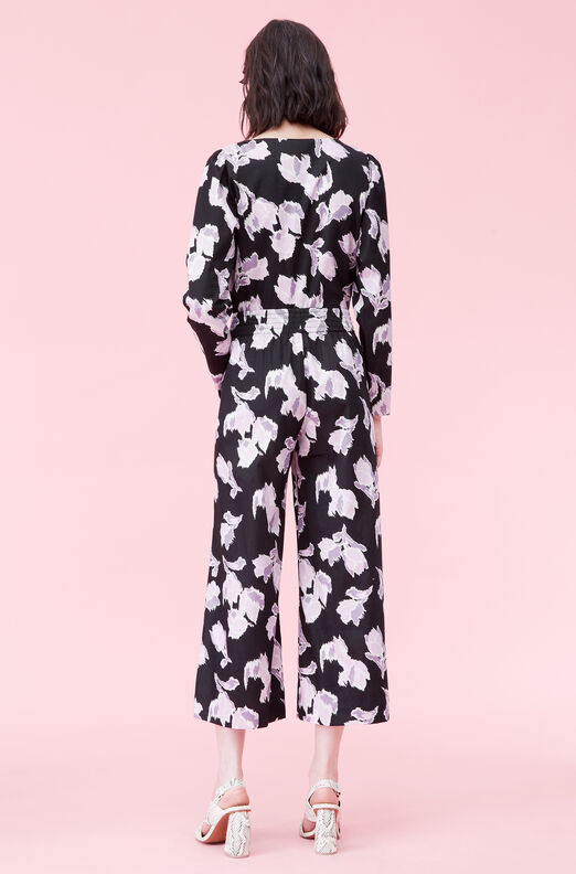 Ikat Blossom Cotton Pant