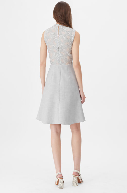 Tailored Aime Jacquard & Clean Suiting Dress