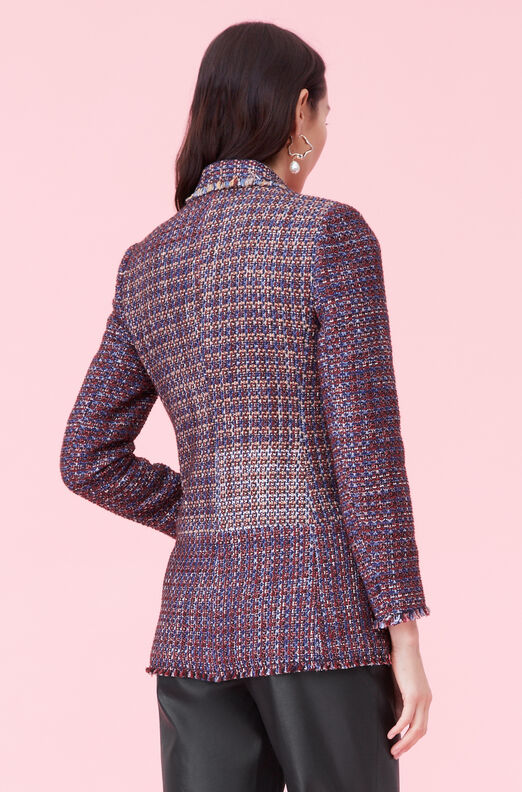 Blanket Tweed Blazer, Multi, large