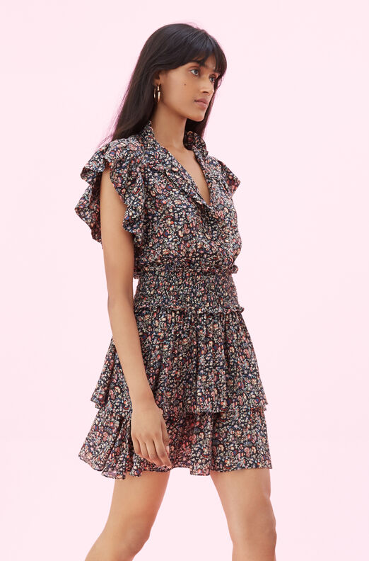 La Vie Gitane Floral Dress