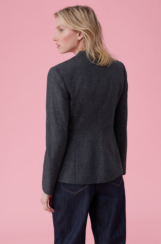 Speckled Herringbone Jacket