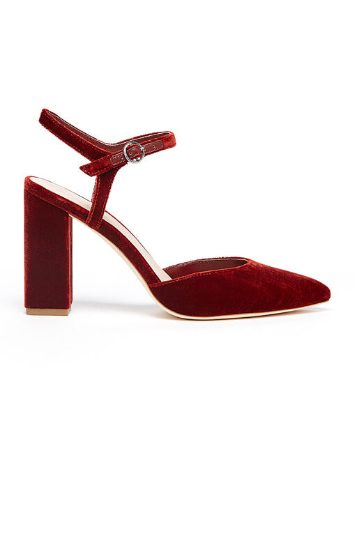 Loeffler Randall Ankle Strap Closed Pump