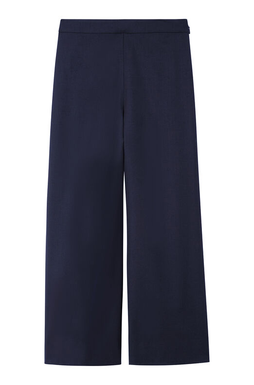 Spring Suiting Wide Leg Crop Pant