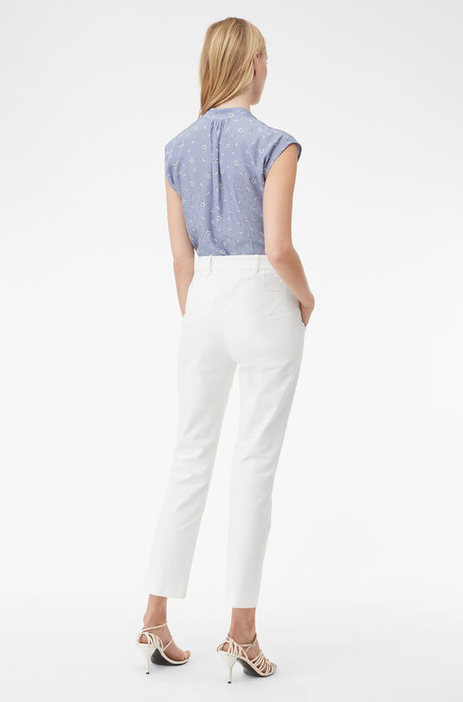 Tailored Stretch Modern Suiting Square Pant, Snow, large