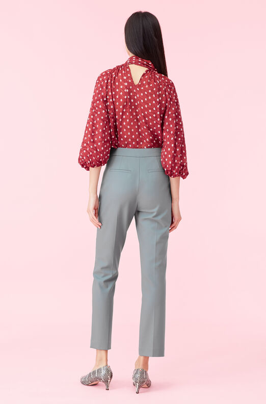 Gabardine Suiting Notch Pant