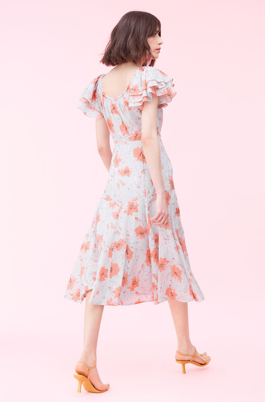 La Vie Louise Floral Dress