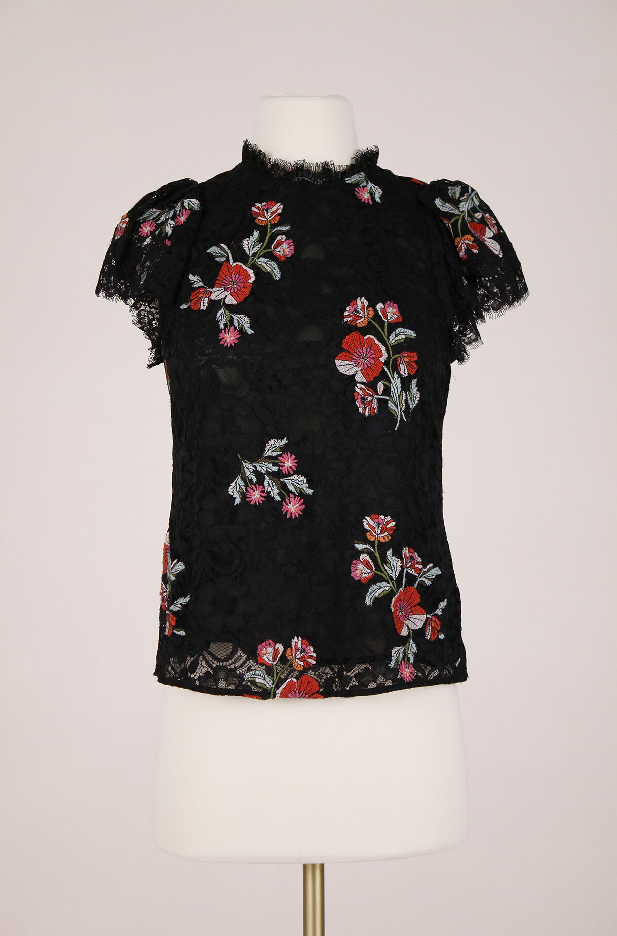 ReCollect Embroidered Lace Top