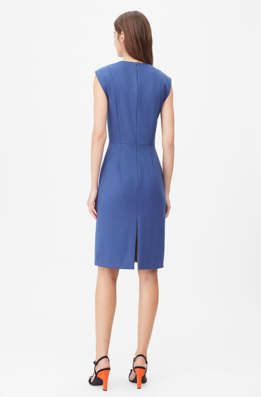 Tailored Gabardine Suiting Dress