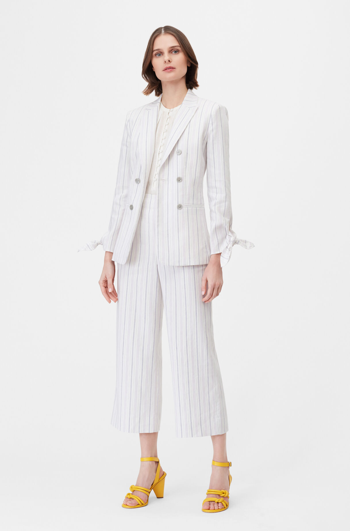Tailored Stripe Suiting Jacket, , large