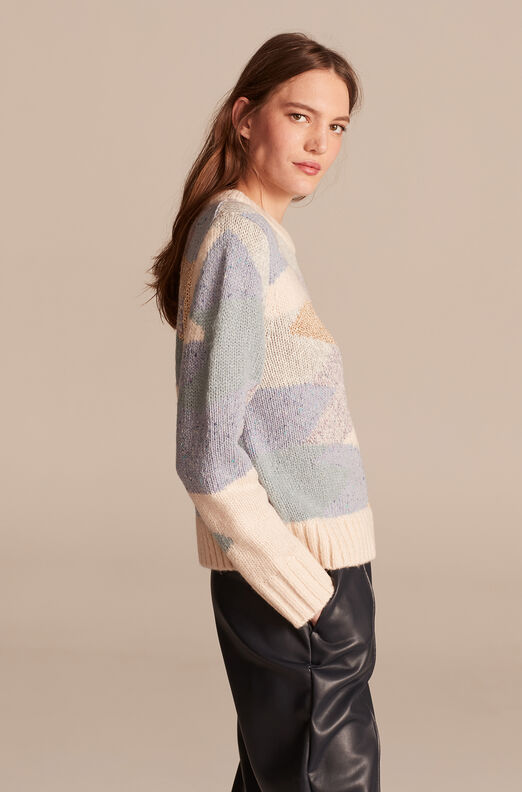 Fluffy Aire Pullover, Multi Combo, large