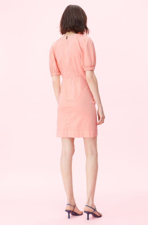 La Vie Stretch Cotton Linen Dress