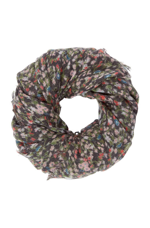 Lyra Floral Scarf - Black Combo