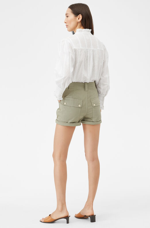 La Vie Stretch Herringbone Short