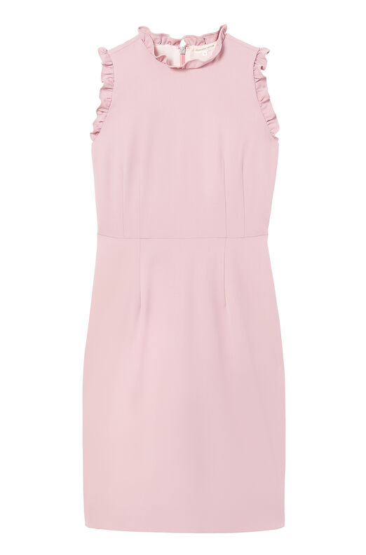 Spring Suiting Ruffle Dress