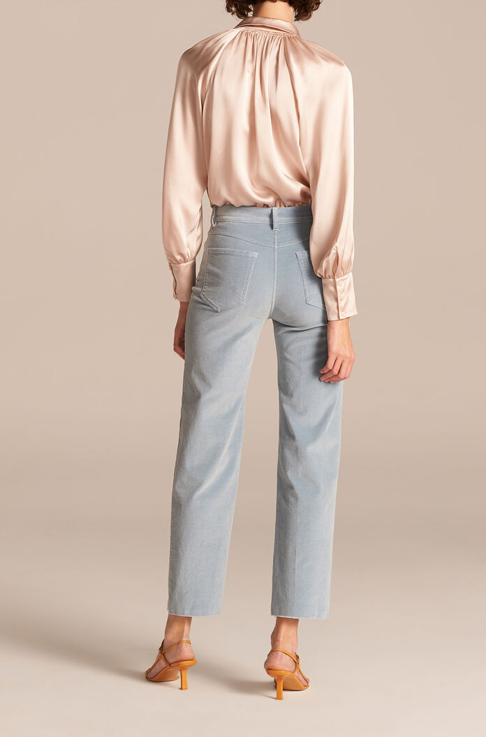Stretch Corduroy Pant, Mineral Blue, large