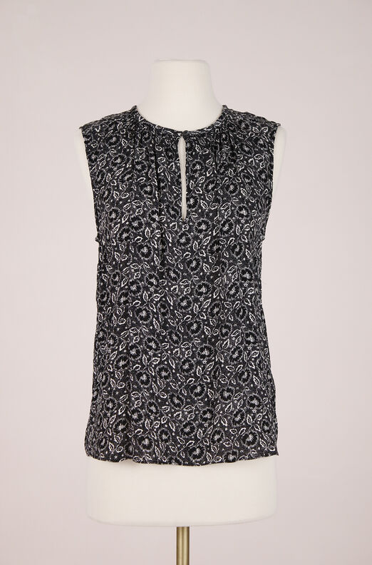 ReCollect Sleeveless Sweet Briar Top