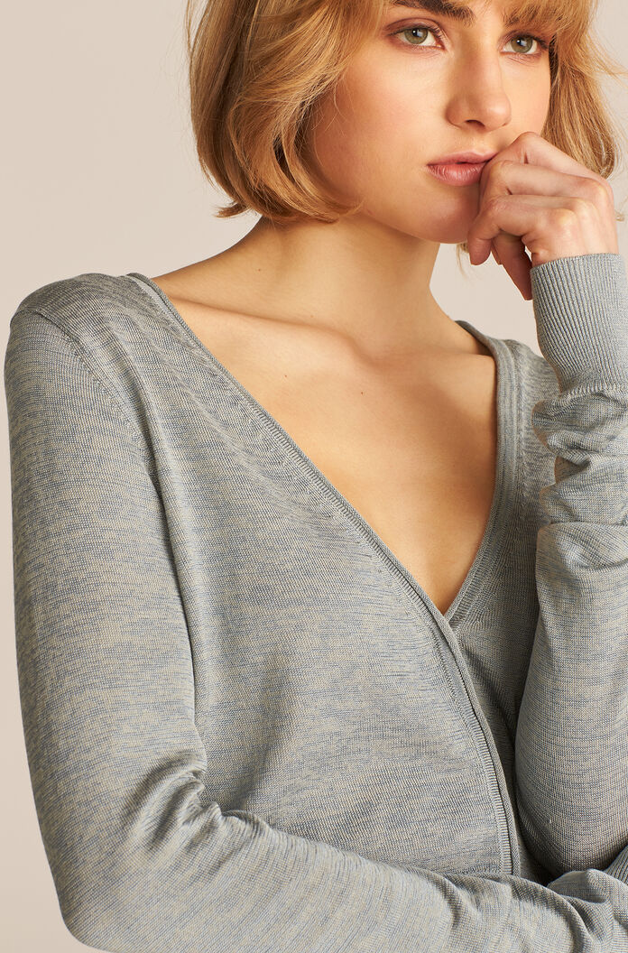 Barely There Cardigan, Glacier, large
