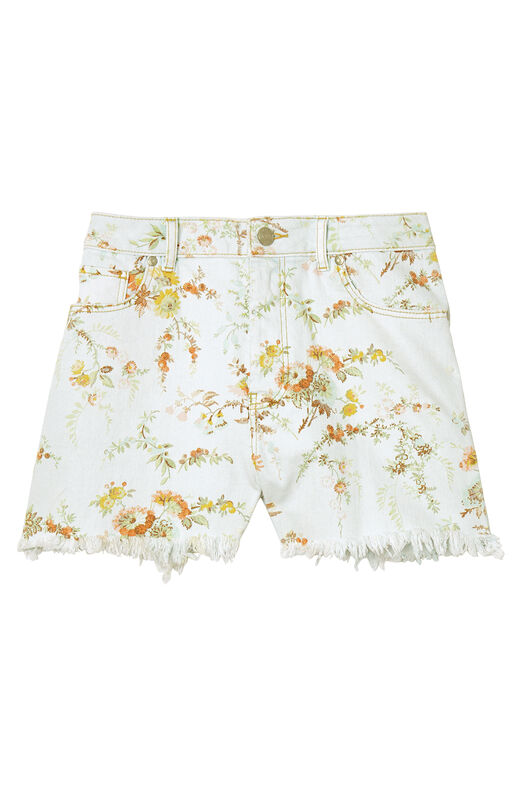La Vie Belle Bouquet Denim Short