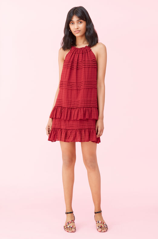 La Vie Celia Check Dress