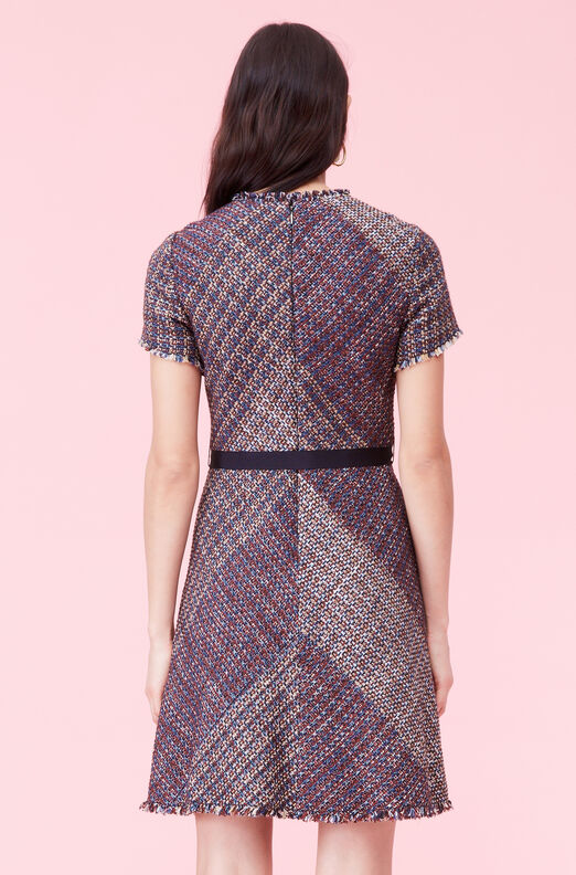 Blanket Tweed Dress