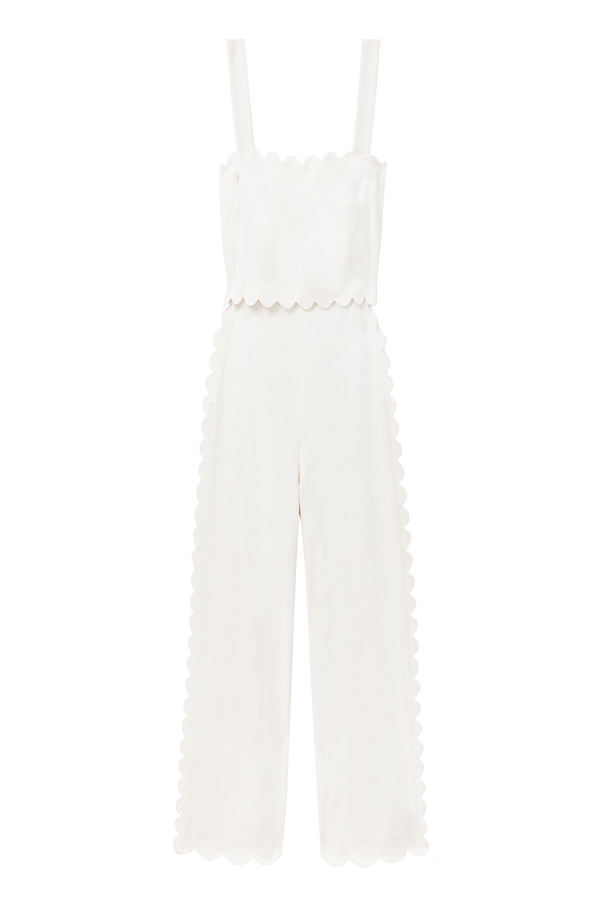 12d15d3ae1f ... Scalloped Suiting Jumpsuit  Scalloped Suiting Jumpsuit