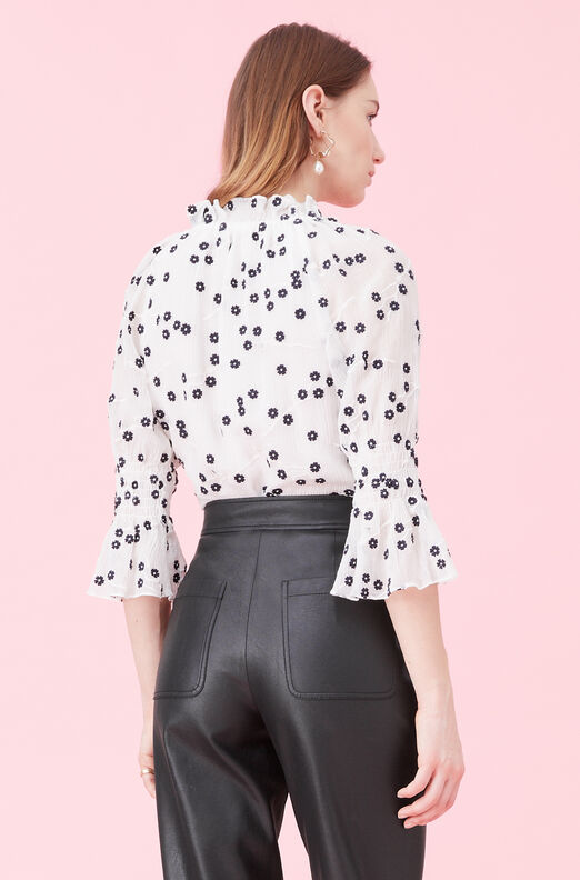 Alessandra Embroidered Top