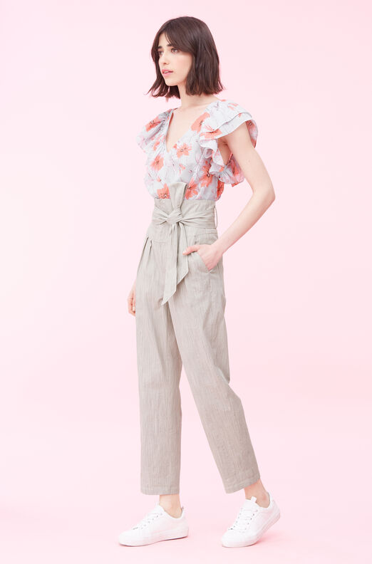 La Vie Louise Floral Top