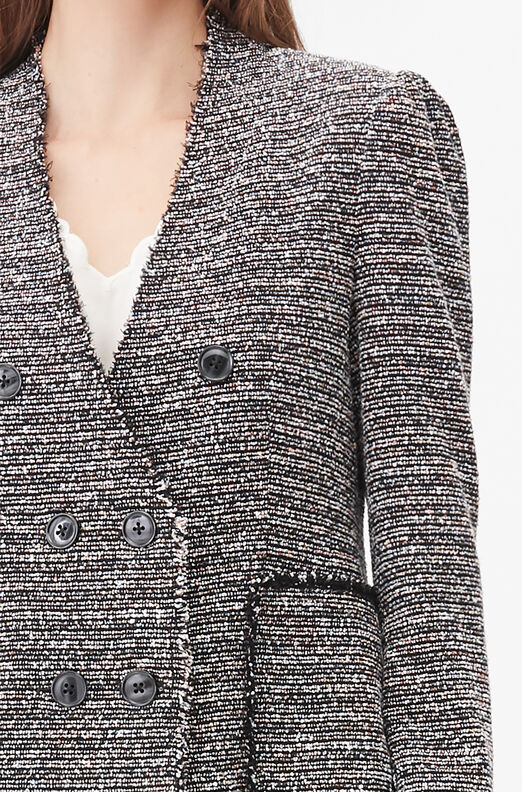 Tailored Static Tweed Jacket