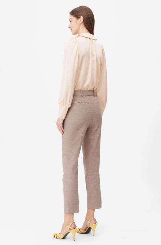 Tailored Houndstooth Suiting Pant