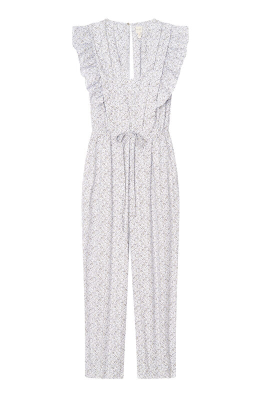 La Vie Meadow Floral Jumpsuit