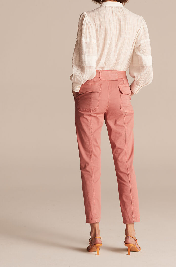 Patrice Stretch Twill Pant, Rose, large