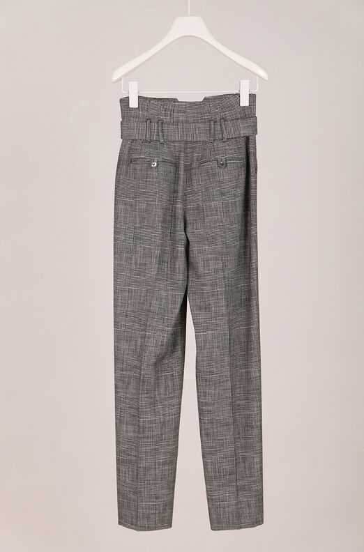 Recollect Belted Plaid Pant