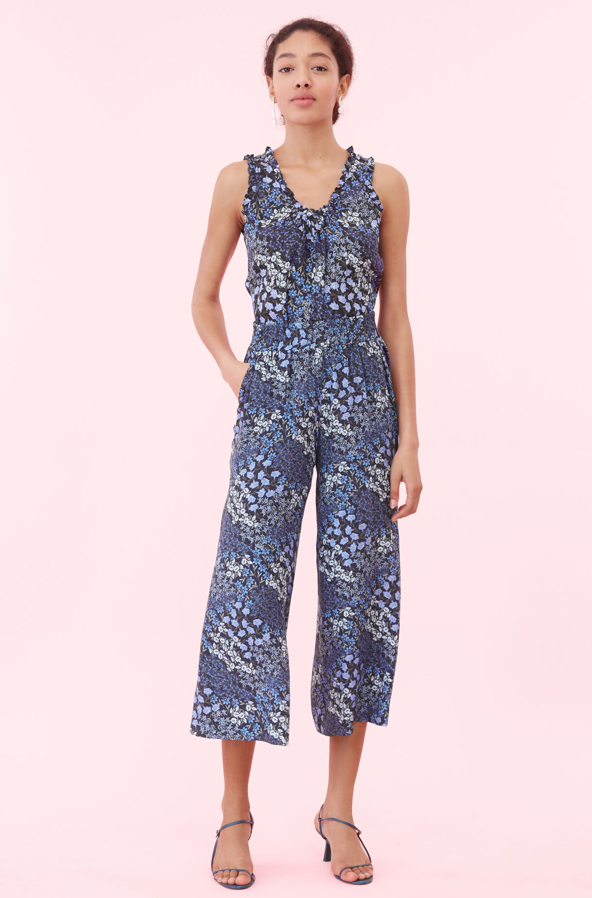 Ava Floral Smocked Pant