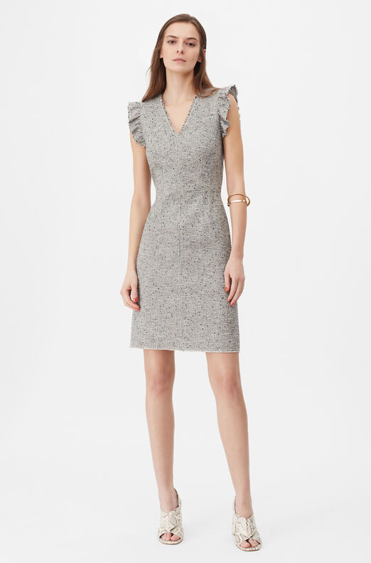 Tailored Tweed Dress