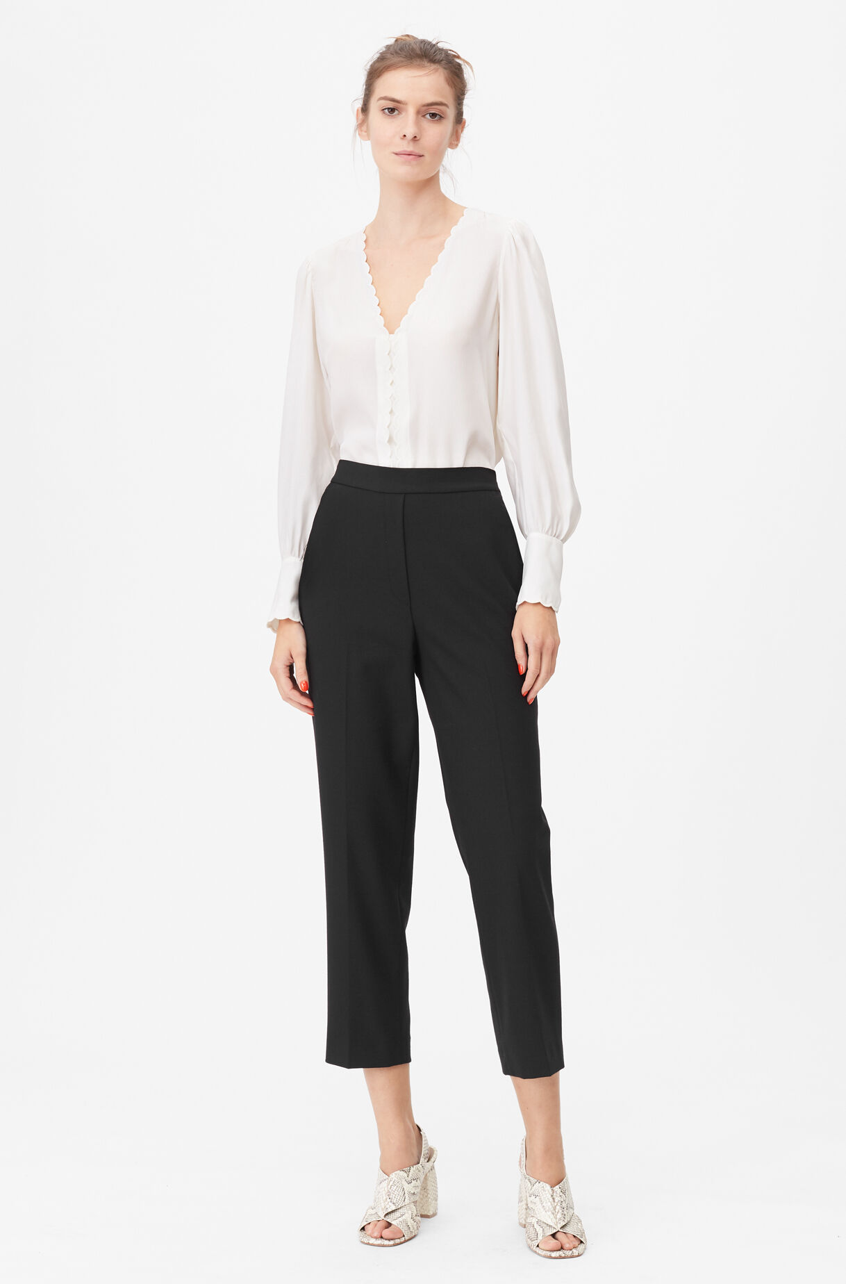 Tailored Gabardine Suiting Pant