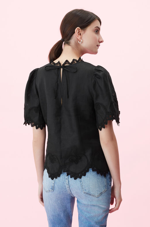 Terri Embroidered Top